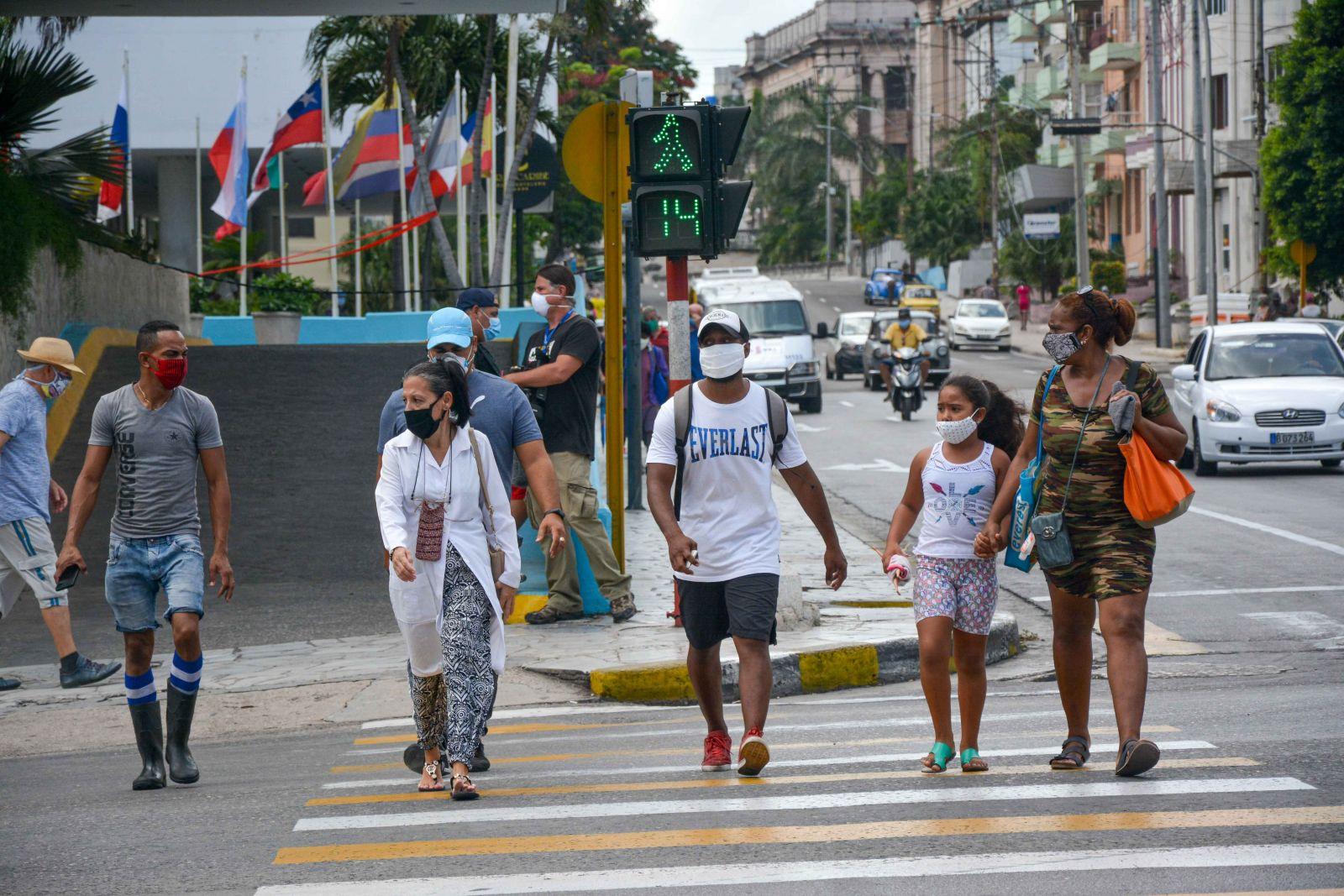 Retoman medidas estrictas en la capital cubana ante tensa situación epidemiológica