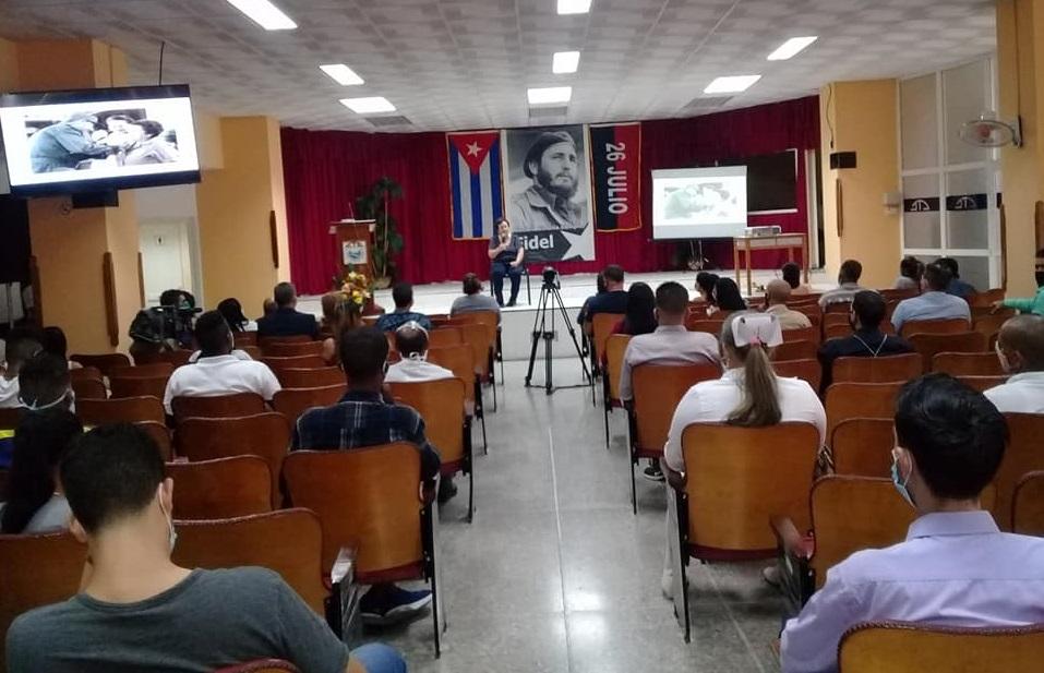 Central de Trabajadores de Cuba rindió homenaje a Fidel (+Audio)