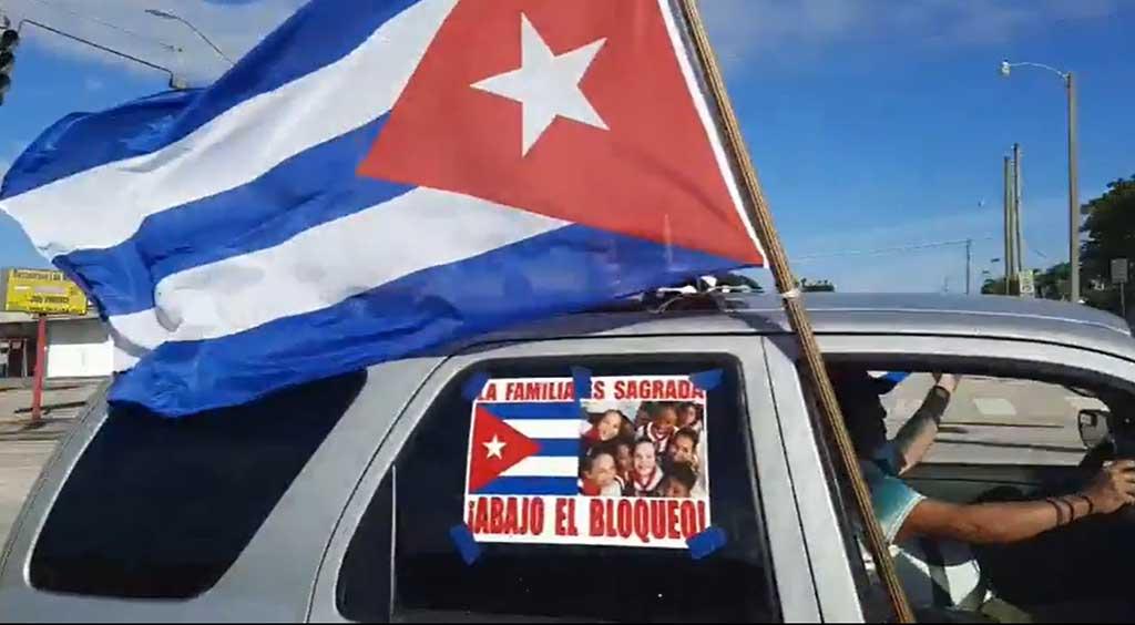 Movimientos solidarios latinoamericanos exigen fin del bloqueo contra Cuba