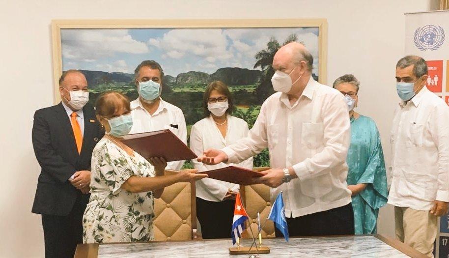 Firman el Sistema de Naciones Unidas y Cuba nuevo Marco de Cooperación