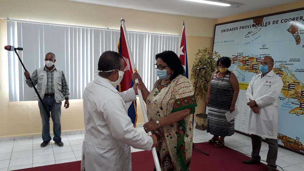 Enfrentarán médicos cubanos la COVID-19 en Suazilandia (+Audio)