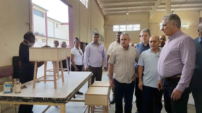 Segunda jornada de la visita gubernamental a Las Tunas