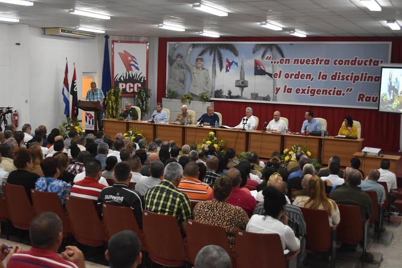 En Audio: En Villa Clara, primera reunión regional para la prevención contra el COVID-19