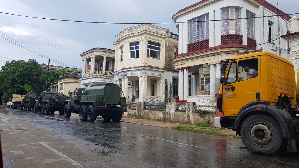 Retoman acciones de desinfección en La Habana