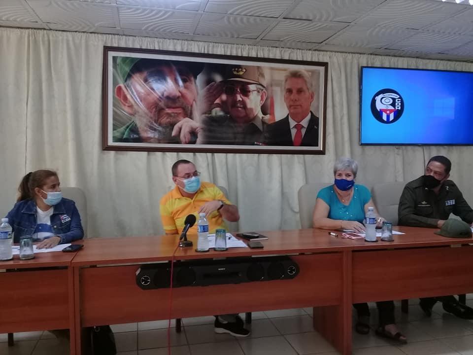 Evalúan en La Habana labor de los Destacamentos Mirando al Mar