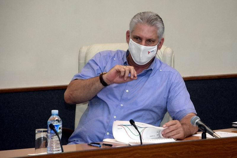 Díaz-Canel: La ciencia nos sigue confirmando que en el enfrentamiento a la COVID-19 no puede haber confianza