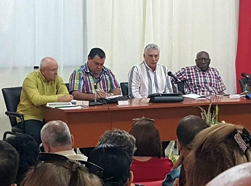 En Cienfuegos, segunda jornada de vista gubernamental