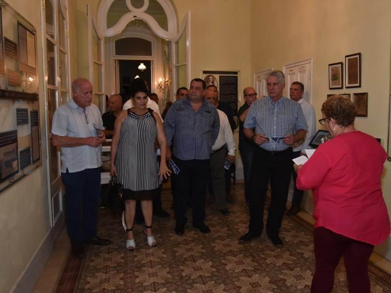 Díaz-Canel en Cienfuegos