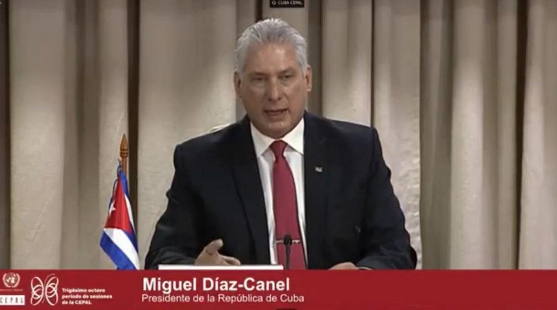 Díaz-Canel: Multilateralismo, Cooperación y Solidaridad deben ser palabras de orden en estos tiempos (+Audio)