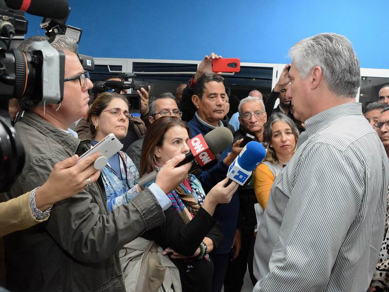 Diaz-Canel affirms Cuba is prepared for difficult times