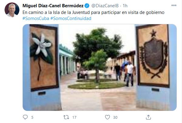 Inicia visita de Gobierno a la Isla de la Juventud encabezada por Díaz-Canel