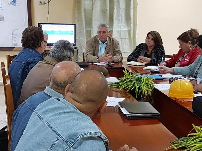 Segunda visita gubernamental a Sancti Spíritus