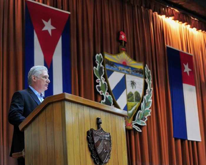 Díaz-Canel: The Cuban people write a heroic page of resistance