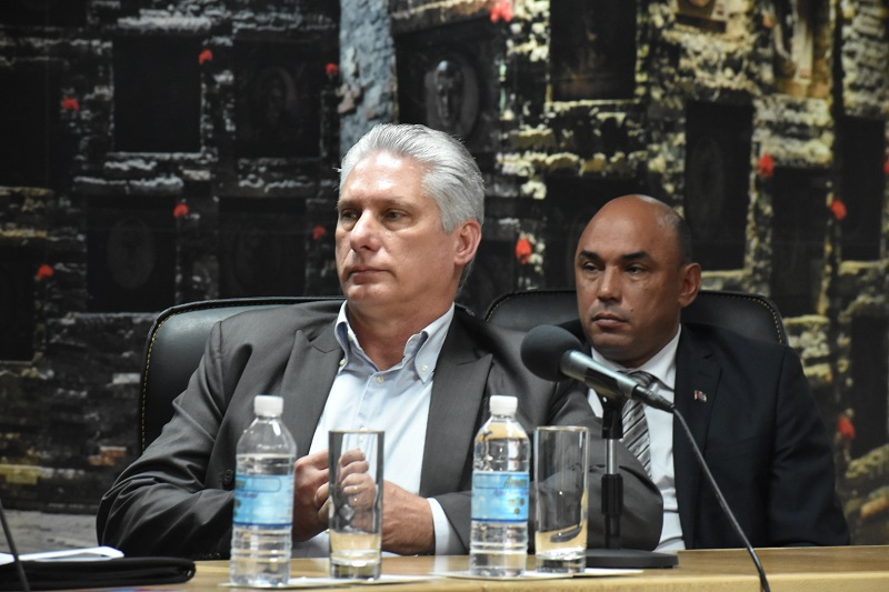 Villa Clara: Díaz-Canel en toma de posesión de Gobernador y Vicegobernador (+Audio)