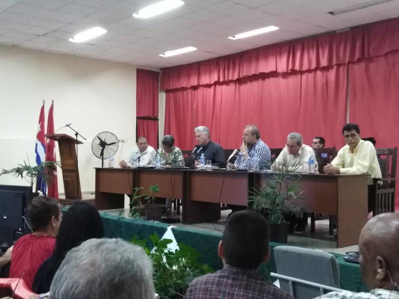 En Audio: Reconoce Díaz-Canel desarrollo local en Las Tunas