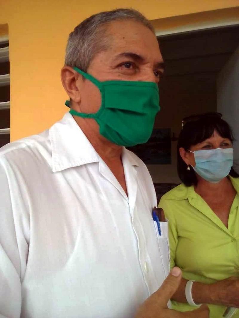 Epidemiólogo Fidel Sánchez