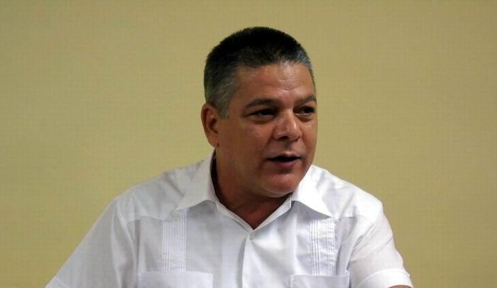 Eldis Vargas Camejo, vicepresidente primero del Grupo Empresarial Correos de Cuba