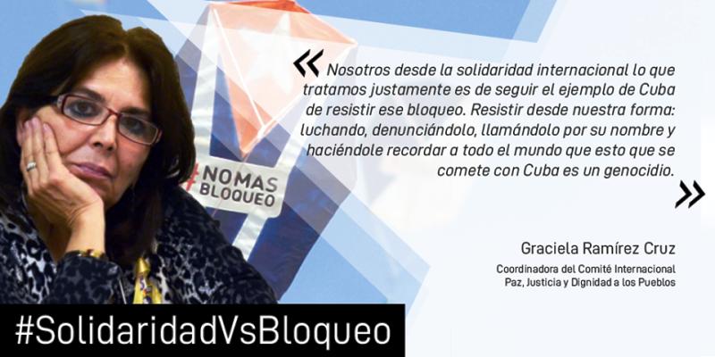 Encuentro internacional Solidaridad contra Bloqueo