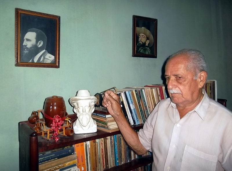 Eusebio González Rodríguez, fue el último hombre que habló con Camilo Cienfuegos