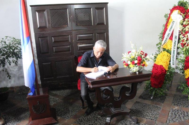 Director Adjunto de la Oficina del Conservador de Santiago de Cuba, Ramón Cobas.