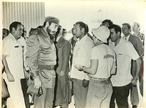 La terminal marítima de Cienfuegos fue visitada por Fidel en 19 ocasiones.