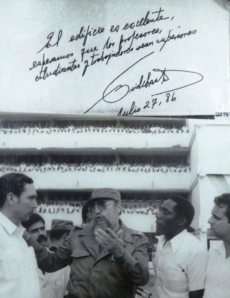 Fidel y la Universidad Médica de Camagüey