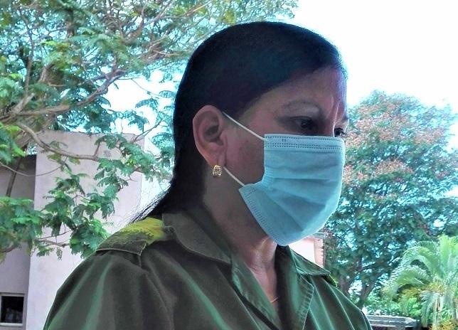La Delegada Gisela en el combate por la vida (+Audio)