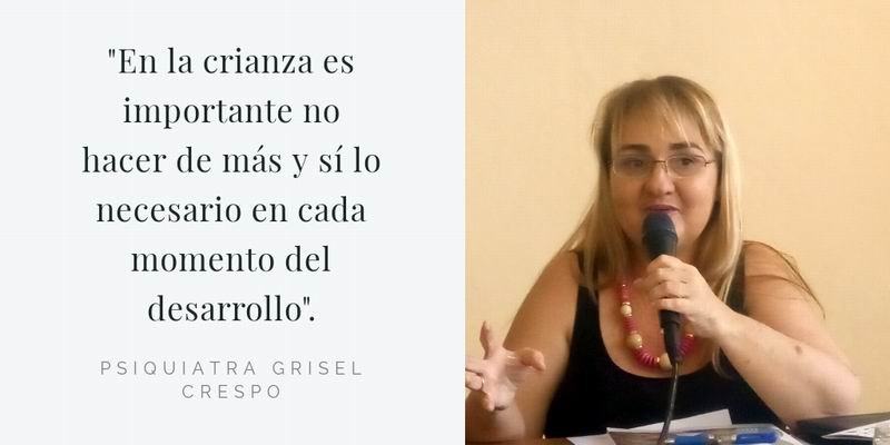Psiquiatra Grisel Crespo