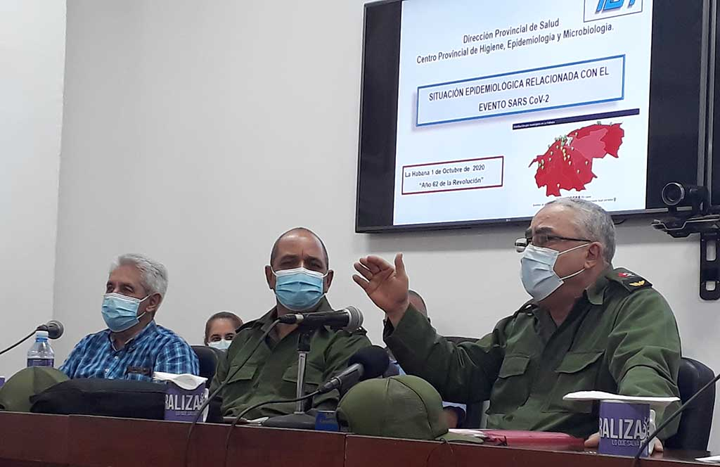 Disciplina y responsabilidad en la nueva etapa de enfrentamiento a la pandemia en La Habana