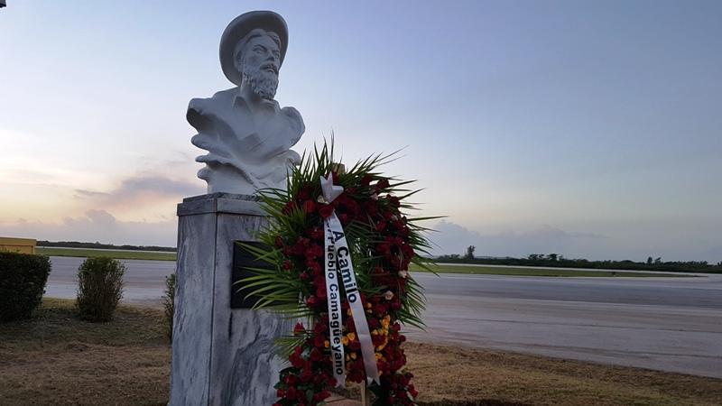 Homenaje a Camilo en Camagüey