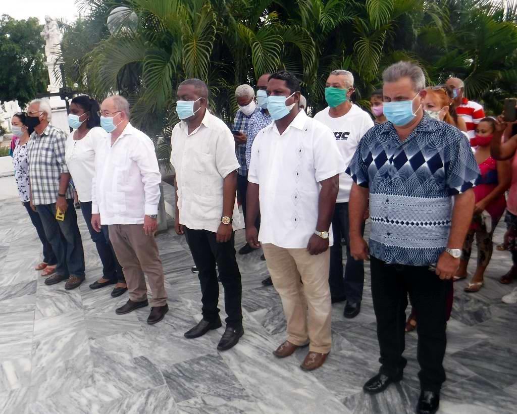 Homenaje en Santiago de Cuba al creador del Himno Nacional
