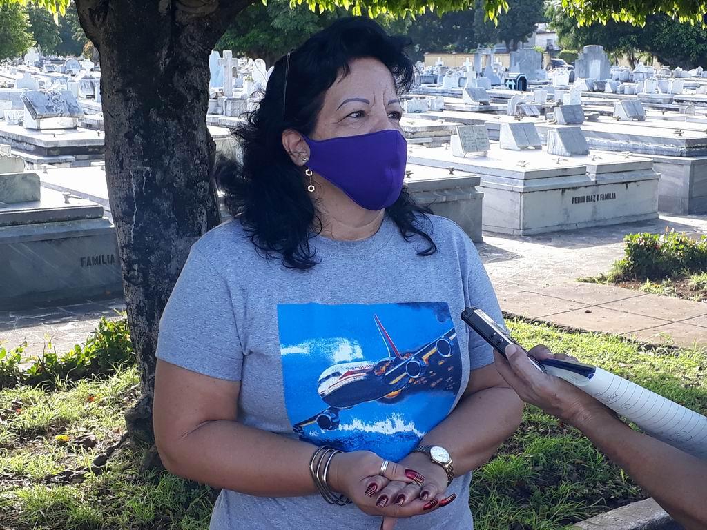 Me llamo María Rojo Álvarez, soy hija de una víctima del Crimen de Barbados, mi papá falleció en ese atentado