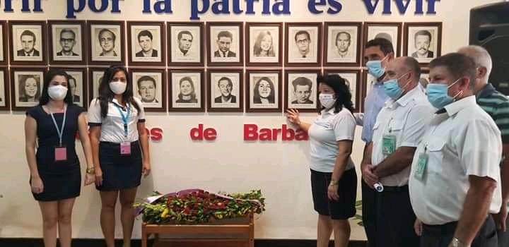 Mártires de Barbados, siempre en la memoria de la aviación cubana