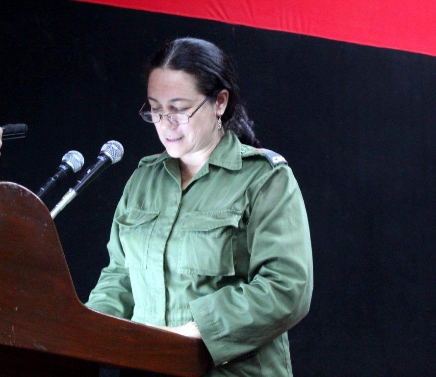Judith Rodríguez Herrera, Miembro del Buró del Comité Provincial del Partido.