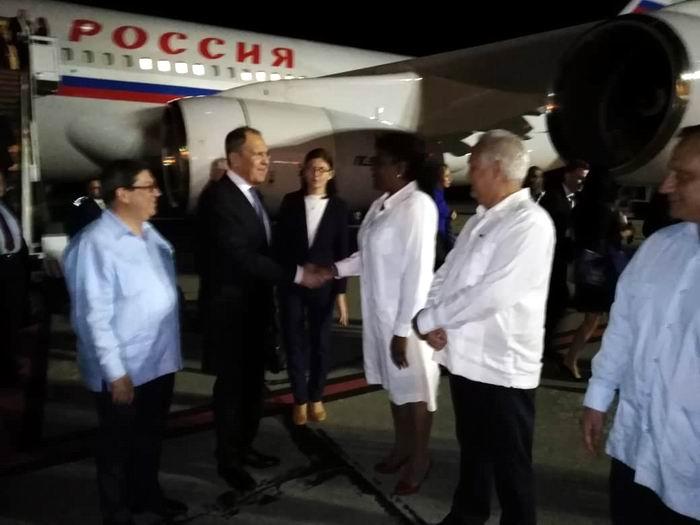 Reitera canciller Serguéi Lavrov apoyo de Rusia a Cuba