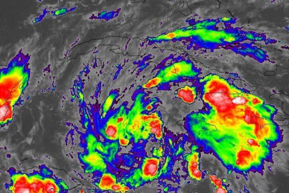 Lluvias pueden ser fuertes e intensas en gran parte de Cuba