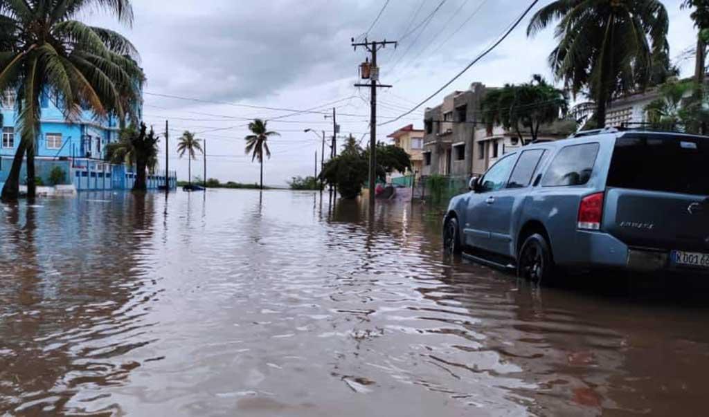 Numerosas y fuertes lluvias en occidente y el centro del país. Foto: Modelos Cfa-insmet