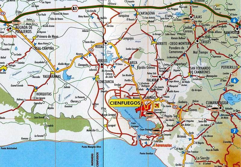 Establecen puntos de control terrestre de entrada a Cienfuegos