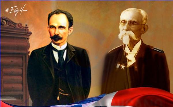 Máximo Gómez y José Martí.