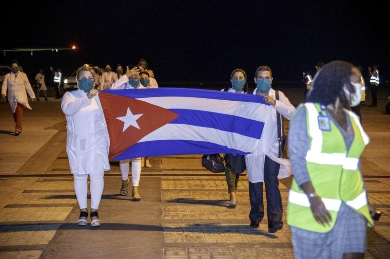 Agradece primera ministra de Barbados ayuda de Cuba ante la Covid-19