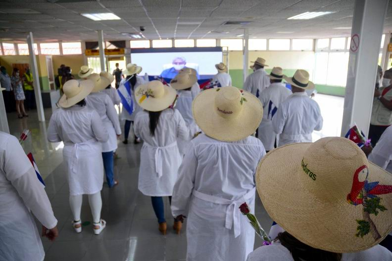 Medical brigade that fought Covid-19 in Honduras returns to Cuba