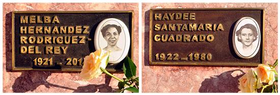 Homenaje a Melba y Haydee