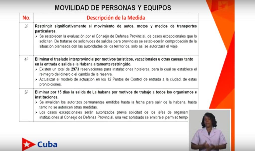 A partir del primero de septiembre, nuevas medidas contra la COVID-19 en La Habana