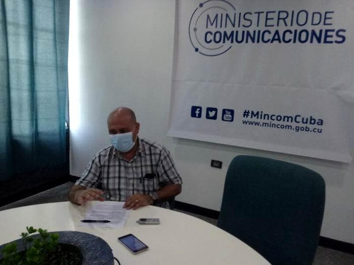 Director General de Informática del Ministerio de Comunicaciones, Miguel Gutíerrez Rodríguez
