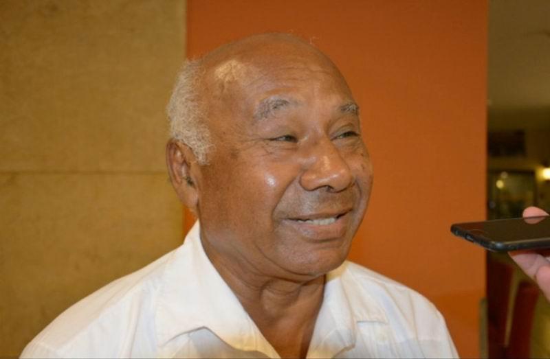 Presidente de la Coordinadora Nacional de Solidaridad con Cuba, Nicolás Aguilar Ibarra.