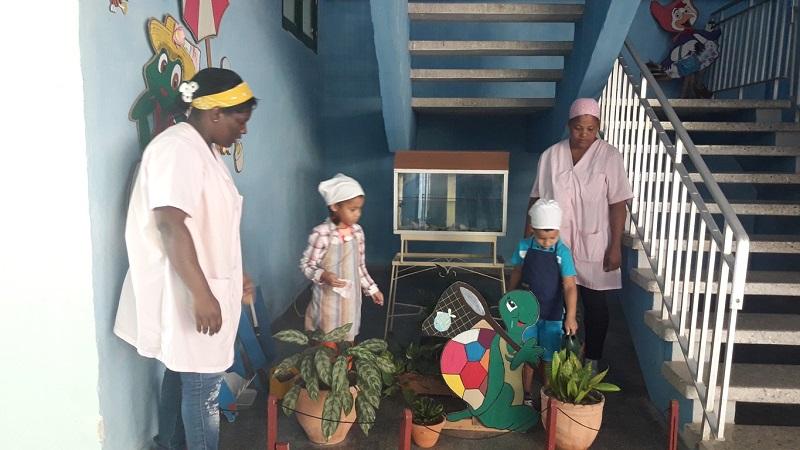 El Cochecito Azul, un centro para cuidar a los niños cubanos en tiempos de la COVID-19