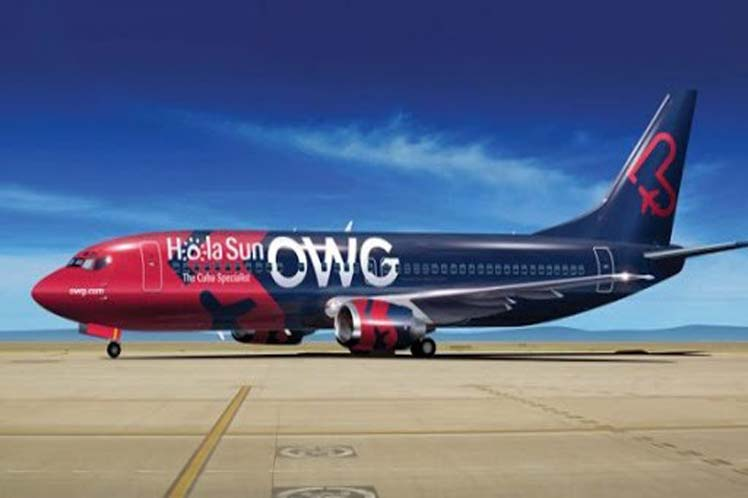 Canadian airline OWG set to fly to Cuba from November onwards