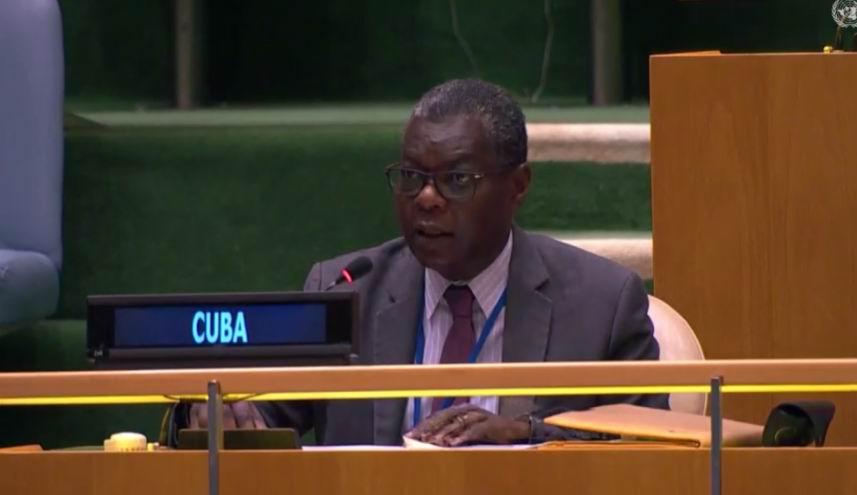 Denuncia Cuba en Naciones Unidas recrudecimiento del bloqueo de EEUU