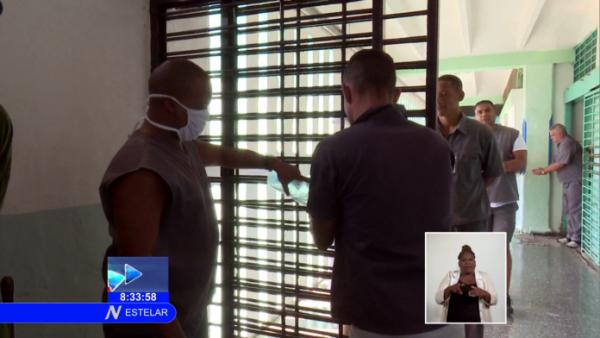 En Cuba plan preventivo ante Covid-19 en establecimientos penitenciarios (+Audio)