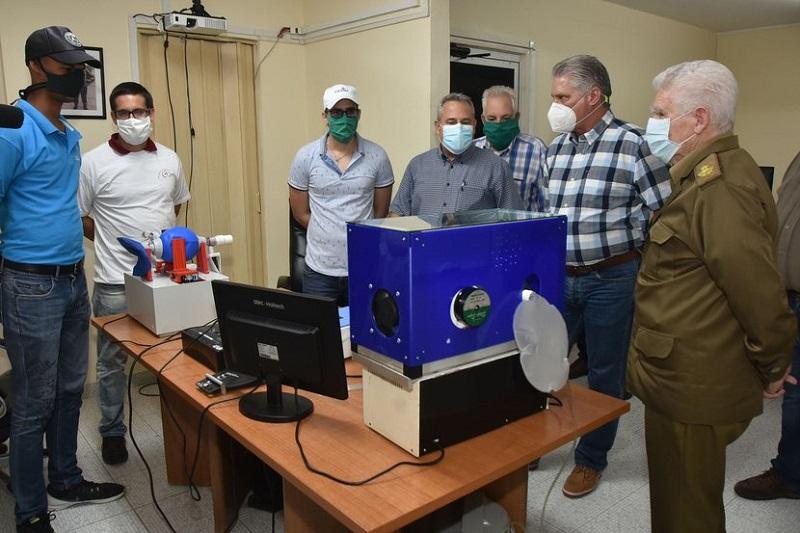 Reconoce Díaz-Canel aporte trascendental de la ciencia cubana en la batalla a la COVID-19